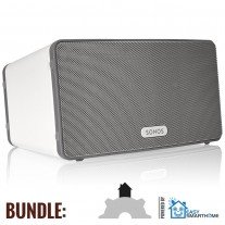 Sonos Play:3 Bundle weiss